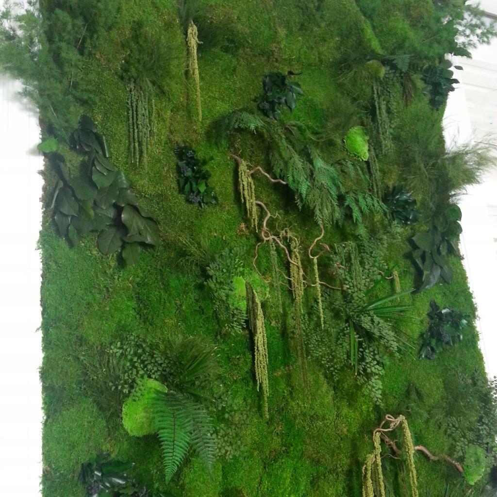 Jardines verticales musgo preservado en venta y alquiler for Jardin vertical madrid